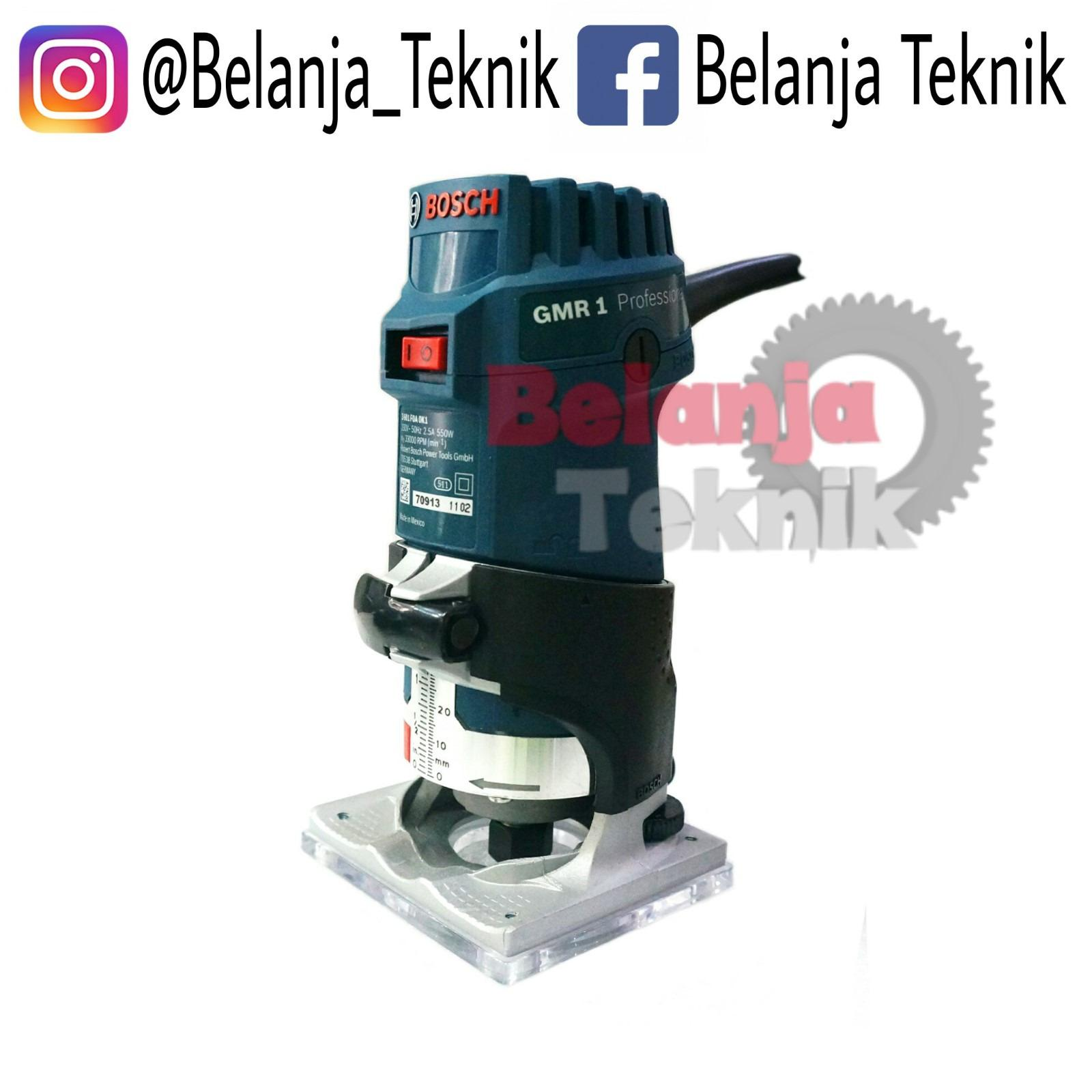 Bosch GMR 1 Wood Trimmer Mesin Profil Kayu