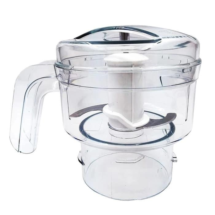 [ GARANSI 100 % ] PHILIPS Aksesories Chopper Untuk Blender HR2115 & HR2116 - HR2939N @ blender philips / blender miyako / blender murah / blender cosmos / blender mini / blender portable / blender tangan / blender philips promo daging manual beauty