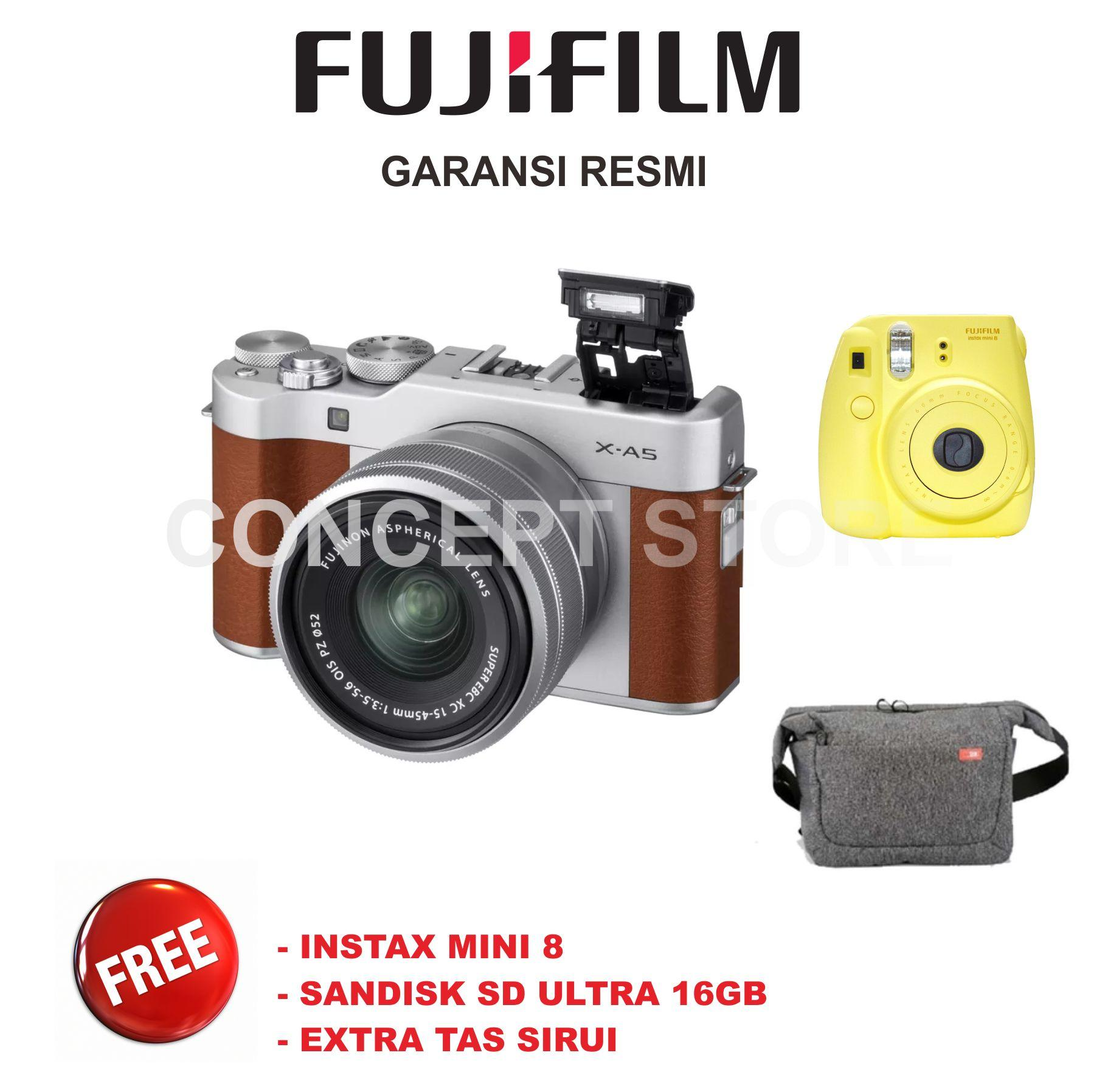 Fujifilm X-A5 KIT 15-45mm Kamera Mirrorless  . XA5 . X A5