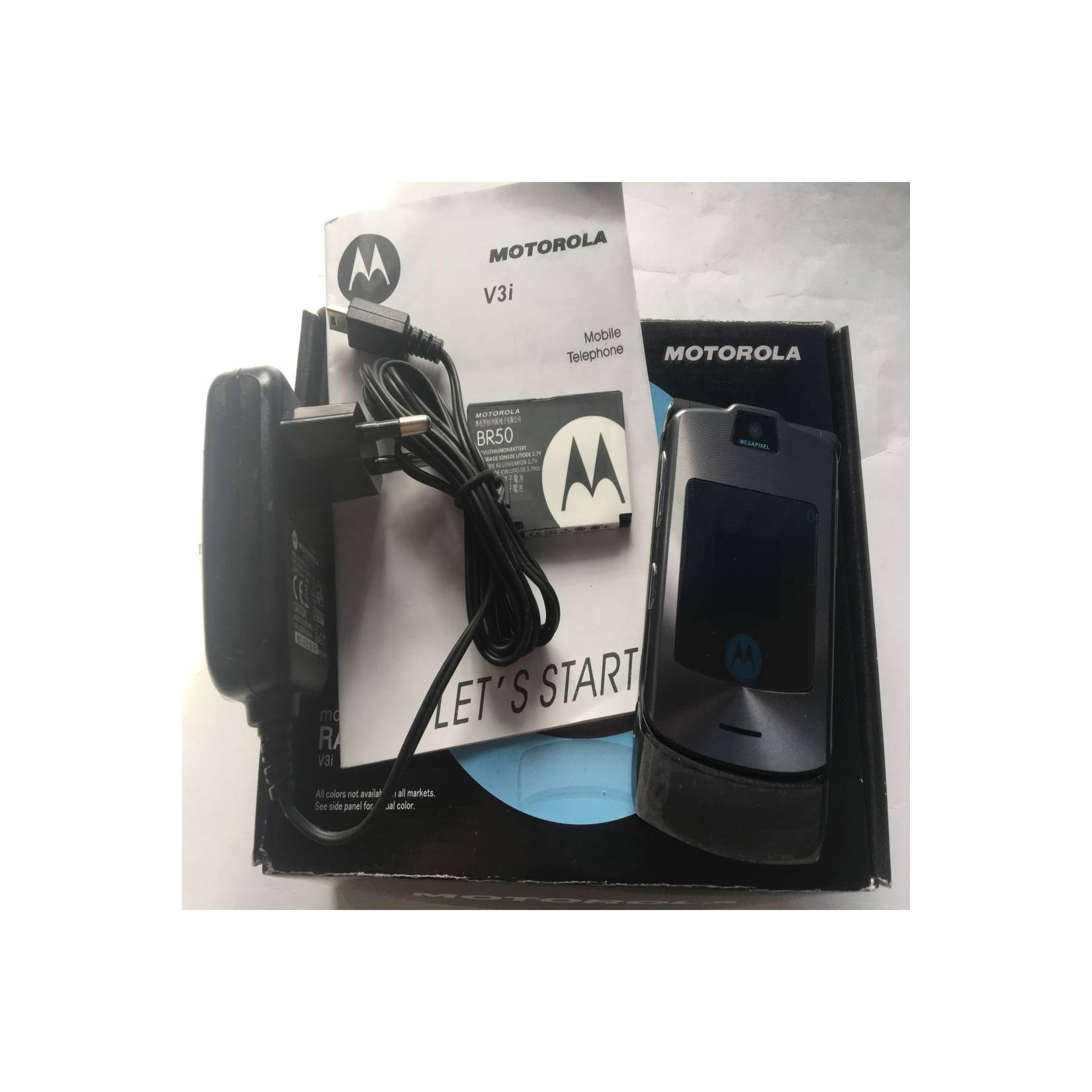 Motorola RAZR V3i Grey - HP Jadul Original