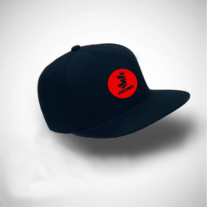 Jakarta Distro Topi Snapback 3SECOND Circel Little Red Premium