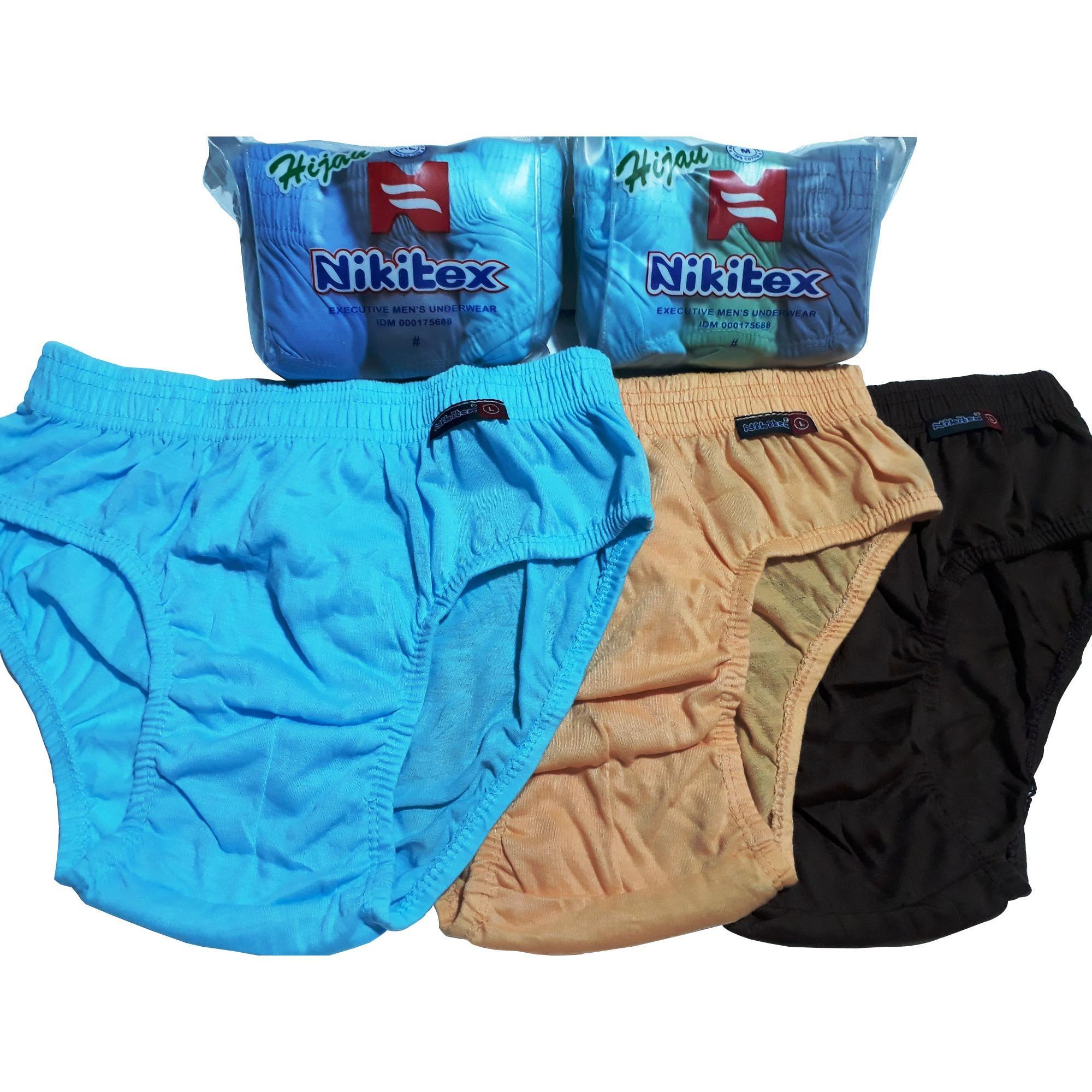 Nikitex ORI Celana Dalam Pria 3 Pcs