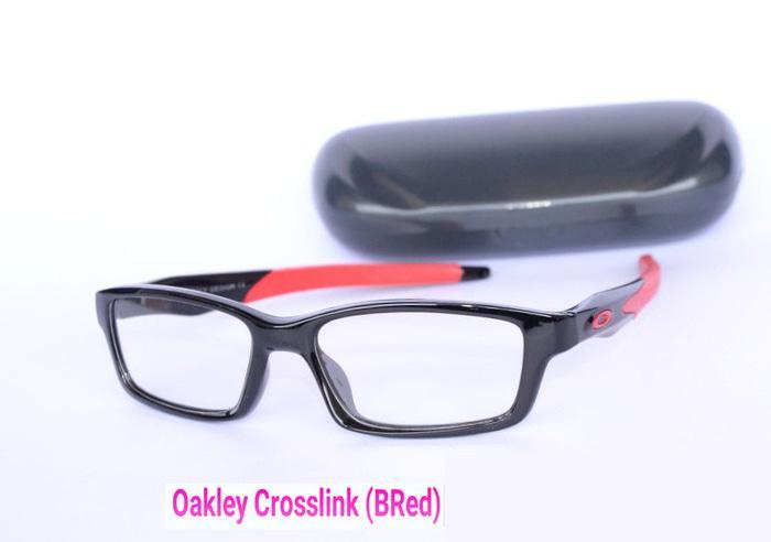 diskon 15%!! Frame Kacamata (BacaU002Fminus) Pria & Wanita - Oakley Crosslink - ready stock