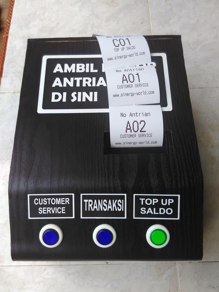 Promo Printer Tiket mesin Antrian auto cutter Original