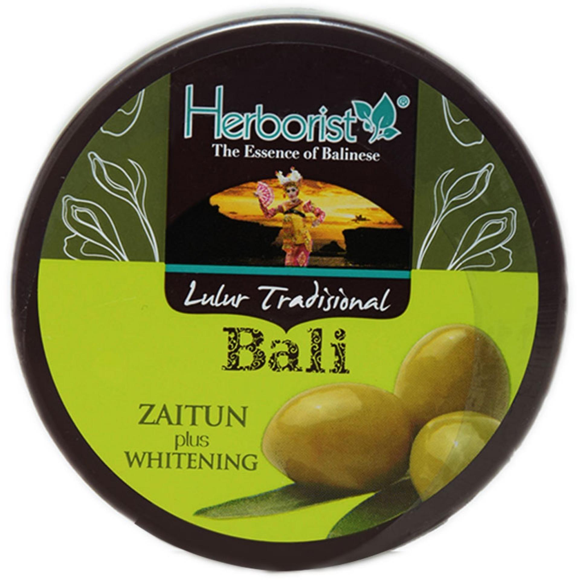 Bath Body Herborist Minyak Zaitun 150ml Lulur 100g