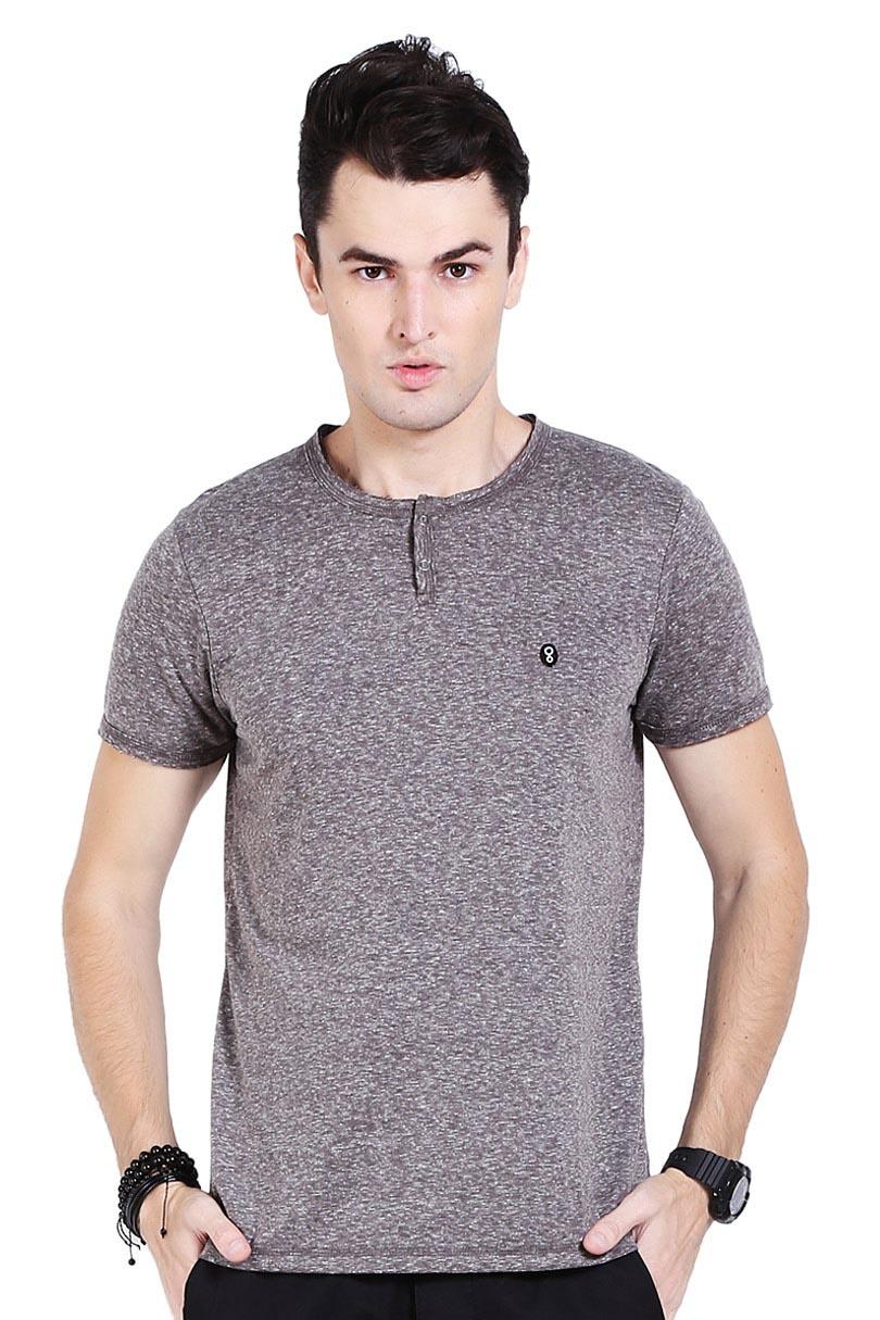 Greenlight T-Shirt Kaos Pria Men Tshirt Grey