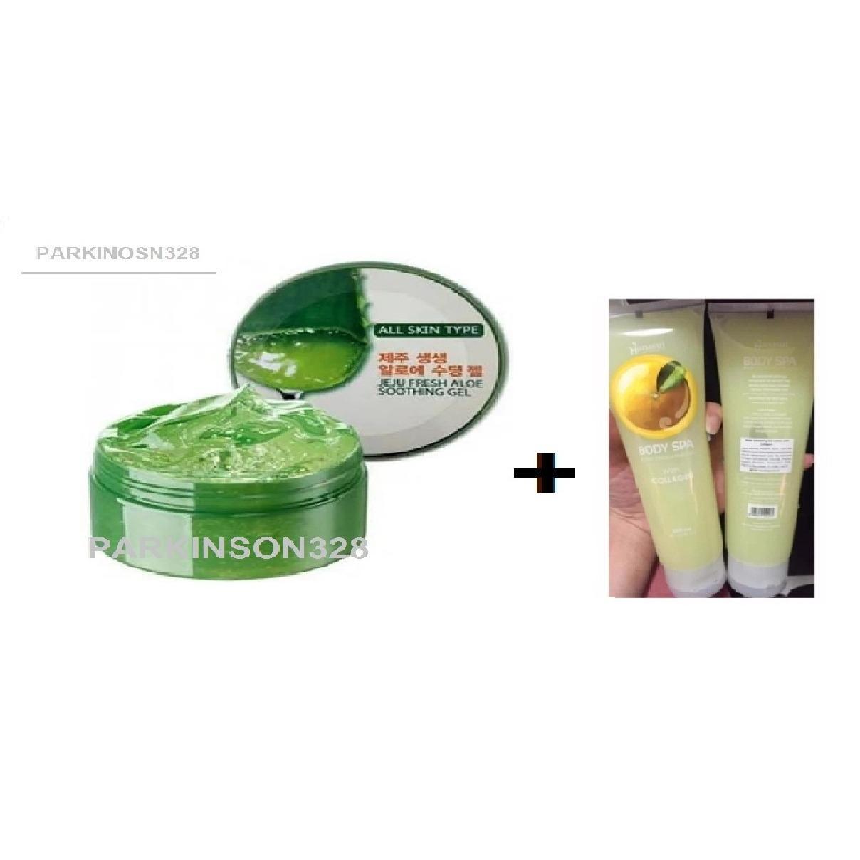Jeju Fresh Aloe Soothing Gel Aloe Vera 95% ORIGINAL!! - 1 Buah +