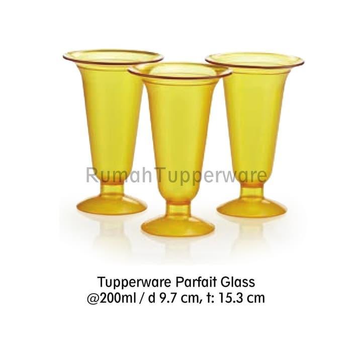 Hot Item!! Tuperwer Parfait Glass 3 Pcs (Activity October) Gelas Dessert Cantik - ready stock