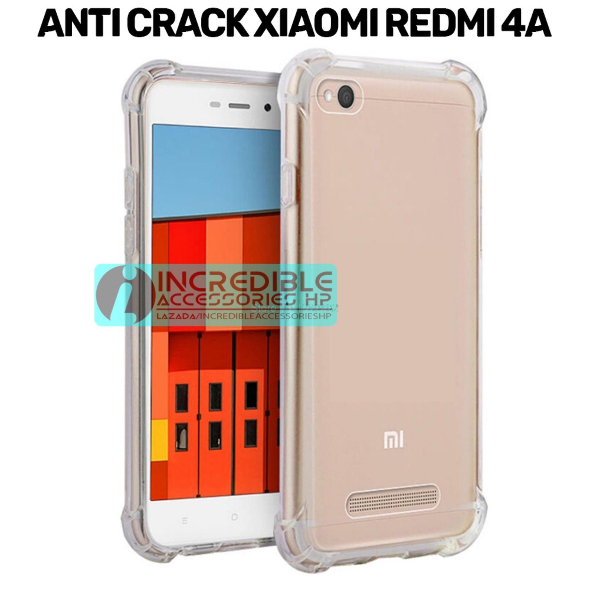Case Anti Shock / Anti Crack Elegant Softcase for Xiaomi Redmi 4A - White Clear