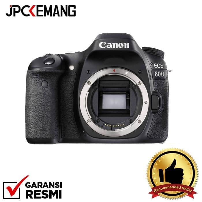 Canon Eos 80d Body Build In Wifi Jpckemang Garansi Resmi By Jpc Kemang.