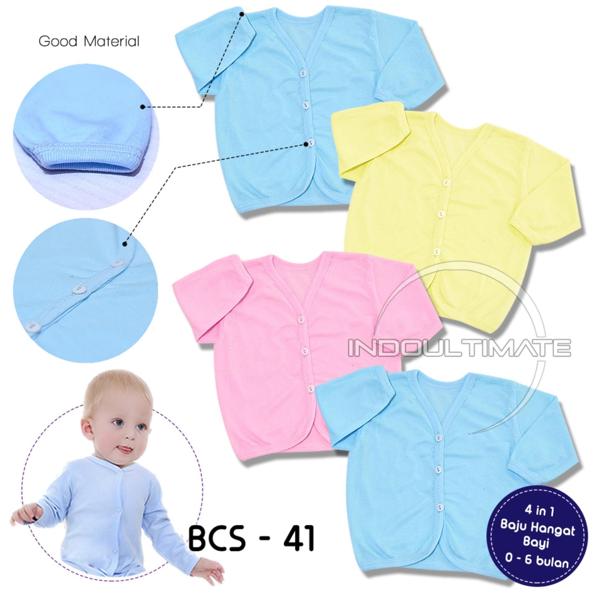 Harga Baju Bayi Newborn Perempuan Termurah Terbaru November 2018 Lengan Panjang Hangat 4pcs Bcs 41 Motif Random Laki