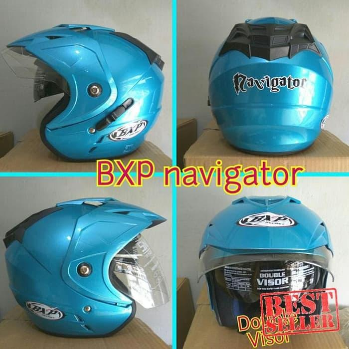 Ori - PROMO Helm BXP Navigator double visor SNI half face