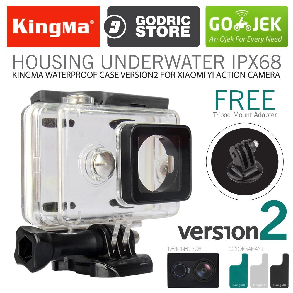 KingMa Original Waterproof Case for Xiaomi Yi Action Camera - Hitam