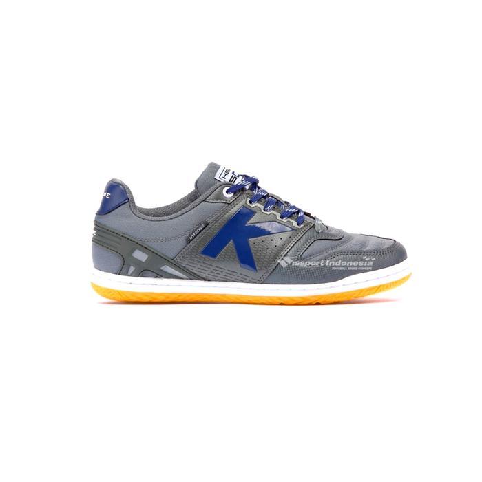 Sepatu Futsal Kelme Intese 4.0 IN 55781702 Dark Grey Original