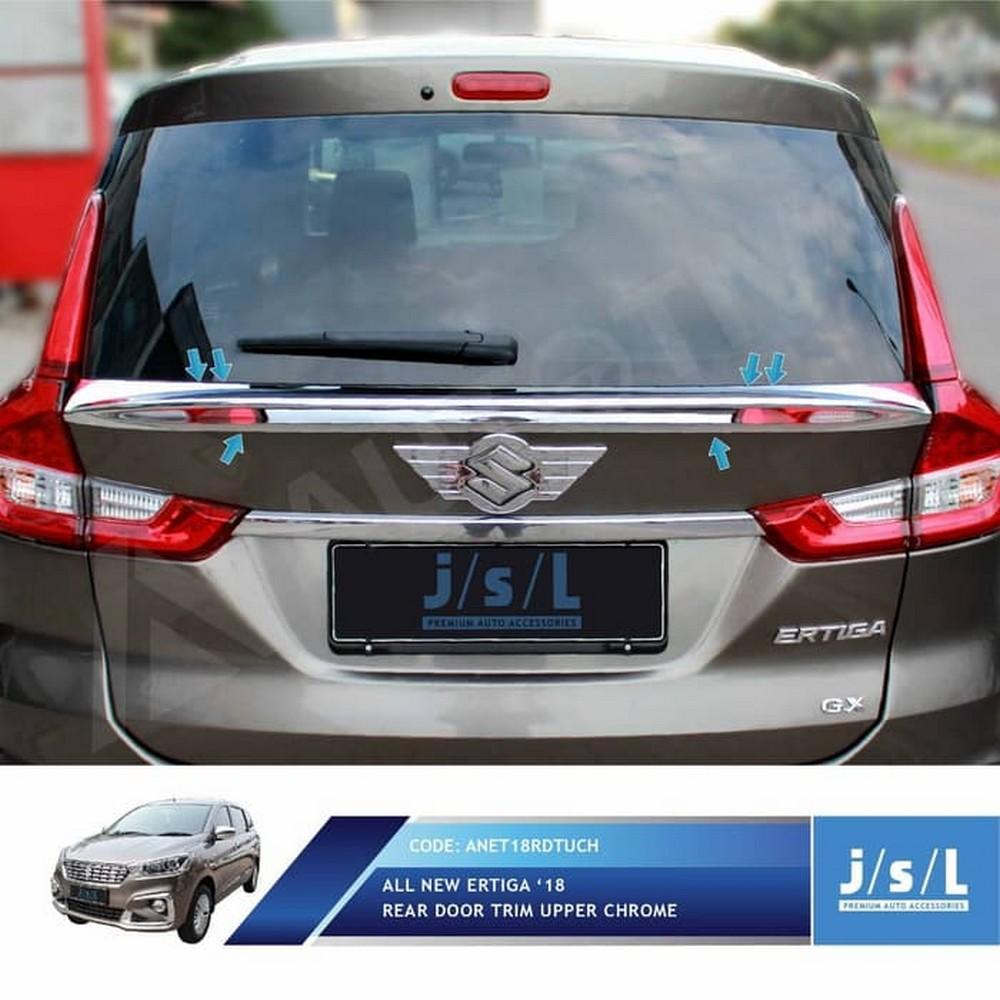 Buy Sell Cheapest Suzuki Eksterior Bagian Best Quality Product Kondom Kunci Ertiga Wagon R Jsl Duck Tail All New 2018 Rear Door Trim Upper Chrome
