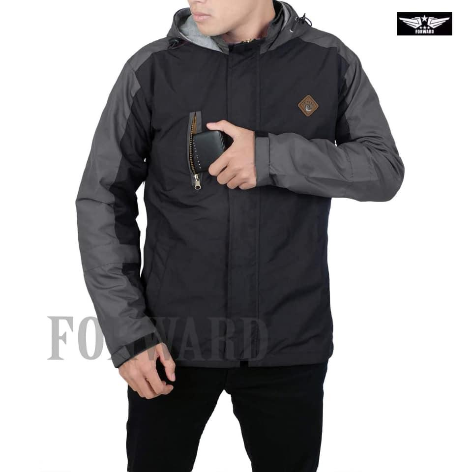Buy Sell Cheapest Jaket Parasut Bolak Best Quality Product Deals Balik Simple Forwad Pria Keren