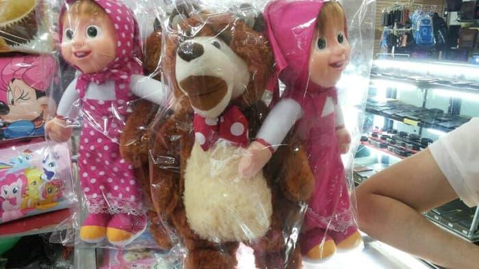 Boneka Marsha And Bear - ready stock