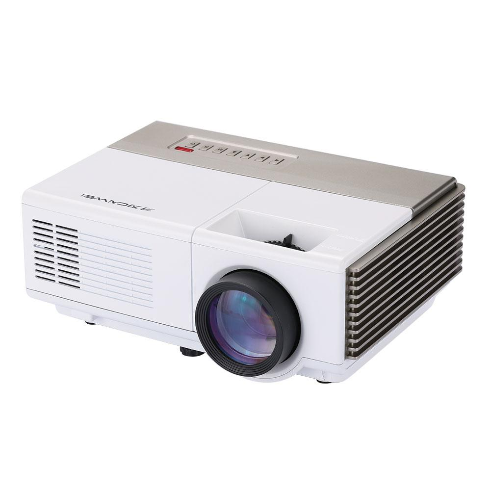 LCD Portable 3D 60W Remote Control HD WiFi Projector LED Projector EU PLUG