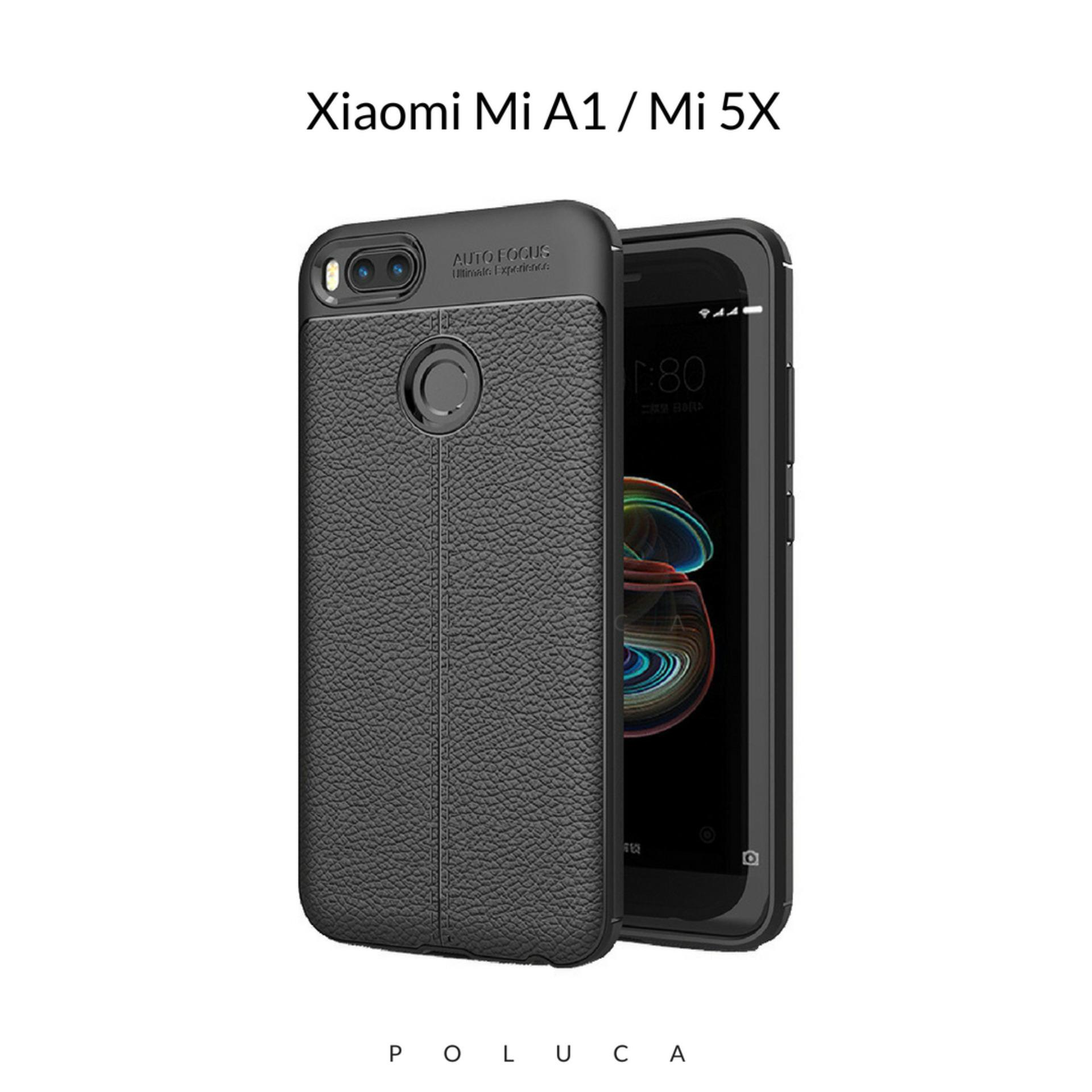 Poluca Luxury Case For Xiaomi Mi A1 / Mi 5X Ultimate Experience TPU Leather Autofocus -