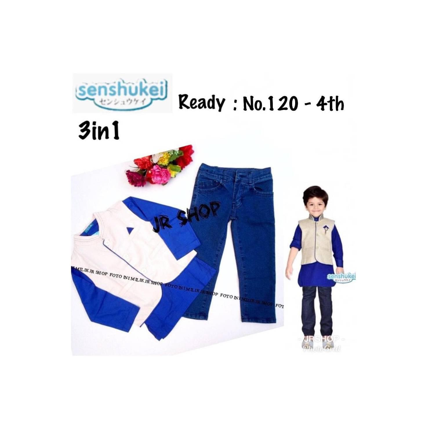 List Harga Baju Koko Anak 2 Tahun Termurah Daftar Fashion Setelan Rbj477 Ready Senshukei 3in1 7 Import