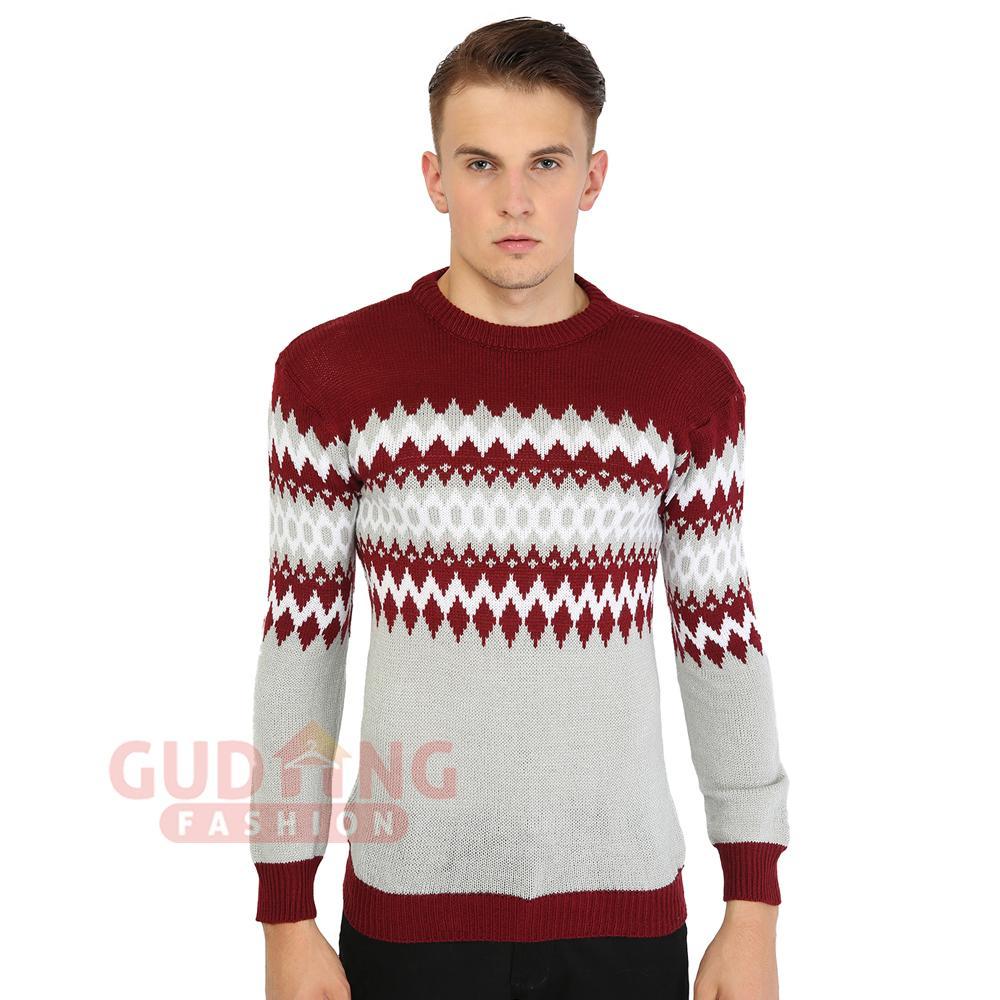 Buy Sell Cheapest Sweaters Hoodie Pria Best Quality Product Deals Sweater Rajut Ariel Dengan Banyak Warna Gudang Fashion Terbaru Polos Tribal Pilihan Dan Motif