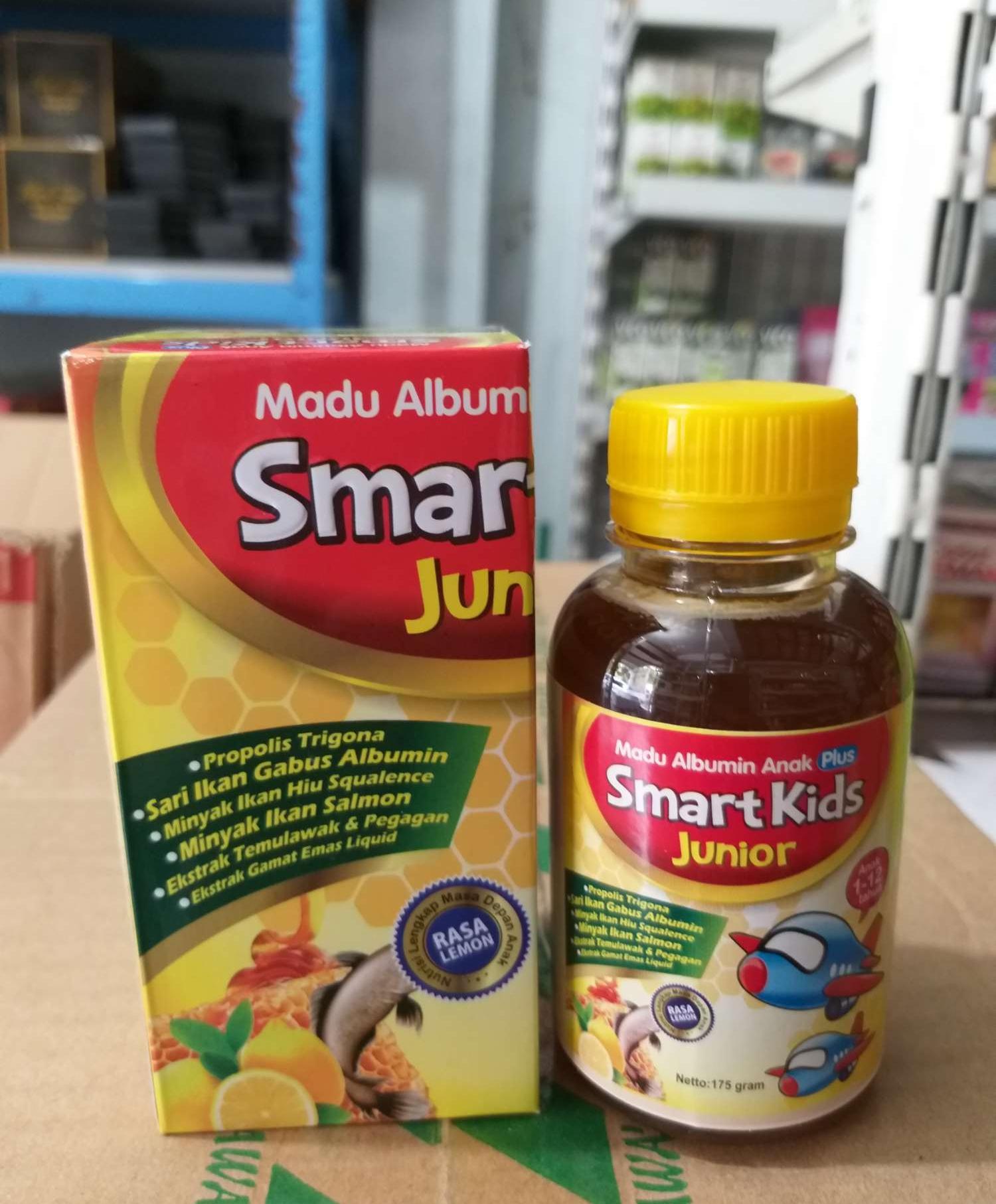 Buy Sell Cheapest Madu Albumin Smart Best Quality Product Deals Vitabumin Anak Plus Minyak Ikan Asli Kids Penambah Nafsu Makan Kecerdasan Otak