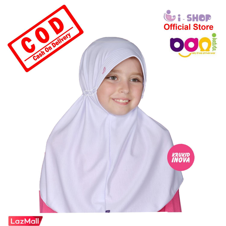 i-shop Jilbab Anak Bani Batuta By Rabbani / Kerudung Sekolah Anak  / Kerudung Instan Anak SD / Jilbab Instan Anak
