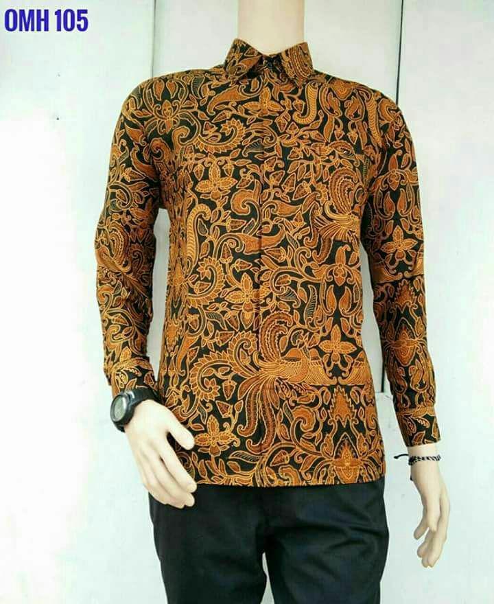 King's kemeja batik solo lengan panjang 031