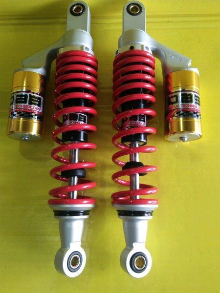 shockbreaker double merk dbs ukuran 340mm dan 360mm double shock dbs tabung atas