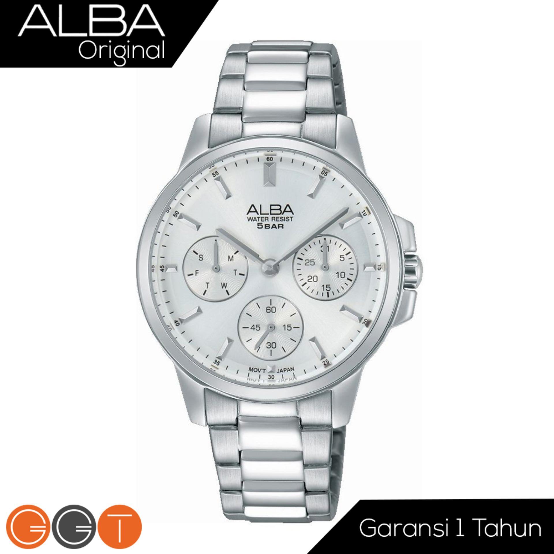 Alba - Jam Tangan Wanita Analog - Starp Stainless Stell - AP6491X1 - Silver 779c516b06