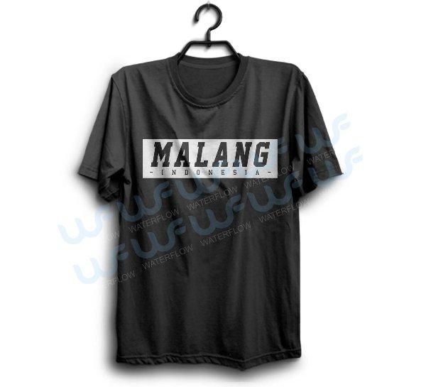 Kaos Malang Indonesia Cocok Untuk Oleh Oleh Atau Merchandise Bisa Req