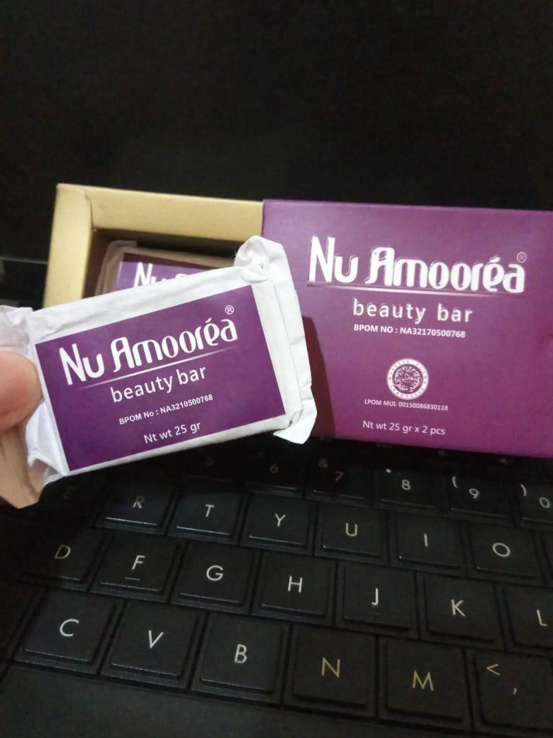 Nu Amoorea Beauty Plus Bar Nuamorea Steam Cell 15 Gram Promo Sabun Ungu 1 25 Bpom