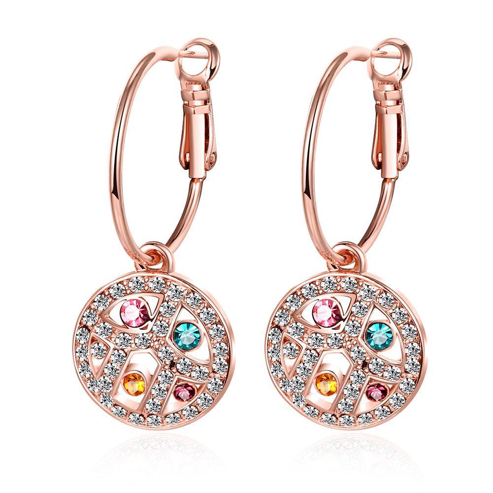 Bella & Co Fashion Earring AKE121 Aksesoris Lapis Emas
