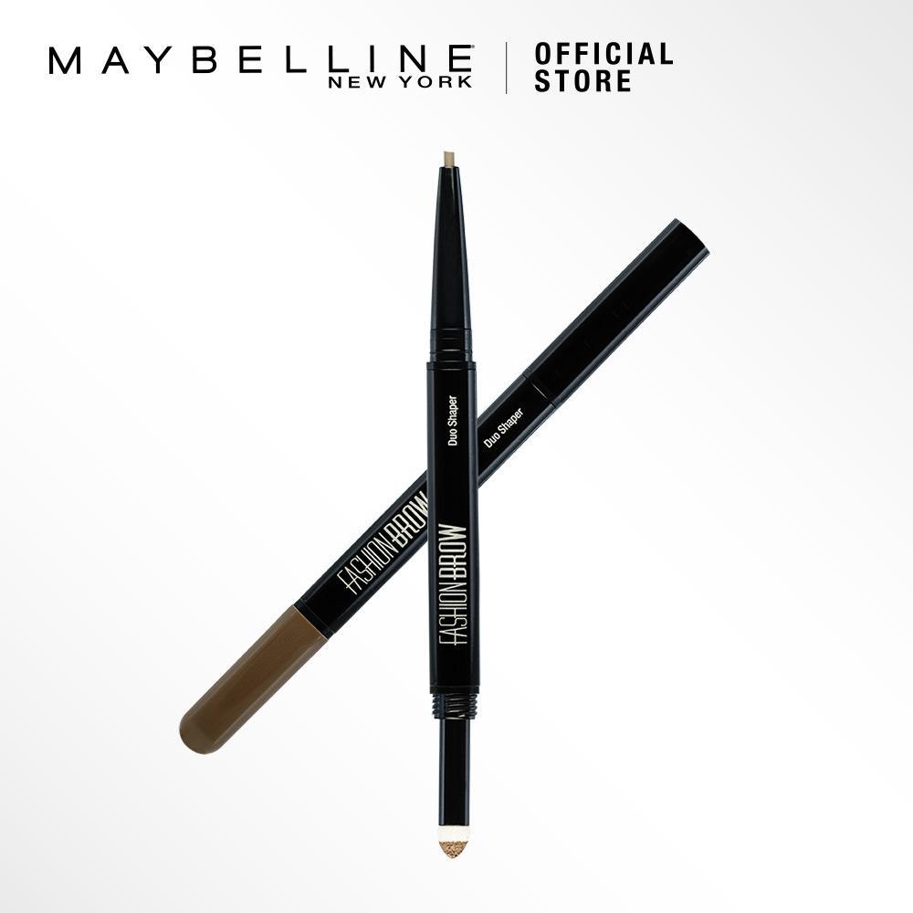 Maybelline Fashion Brow Duo Shaper Pensil Alis - Cokelat