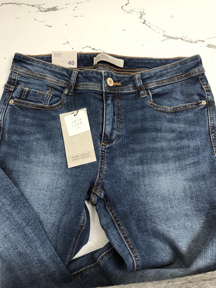 Celana Jeans Zara Woman Authentic Not Levis Lea Stradivarius
