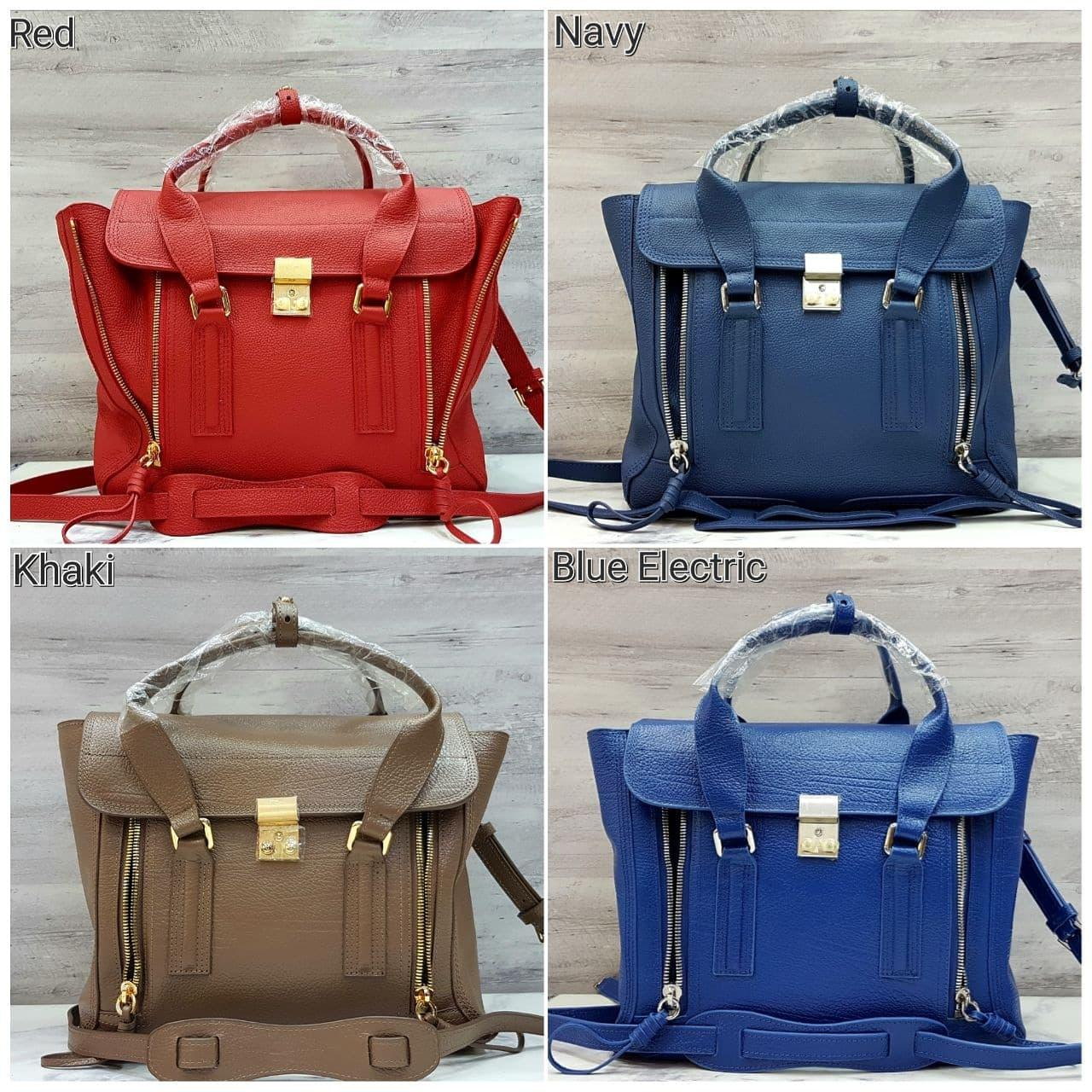 Buy Sell Cheapest Philip Lim Pashli Best Quality Product Deals Medium Brick Rhw Jumbo Mirror Tas Hand Bag Branded