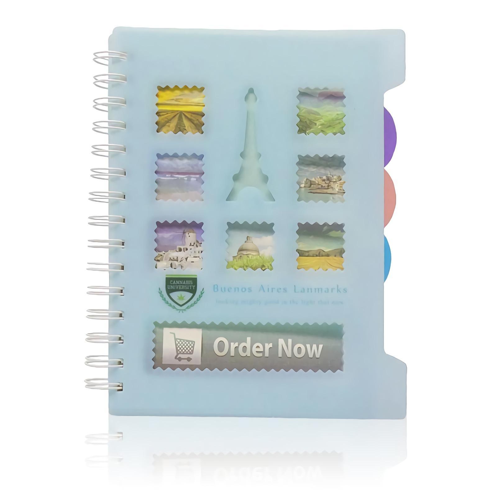 OHOME Buku Tulis [98 Lembar] Note Book Ukuran A5 Notebook Catatan MS-21125-03 Biru