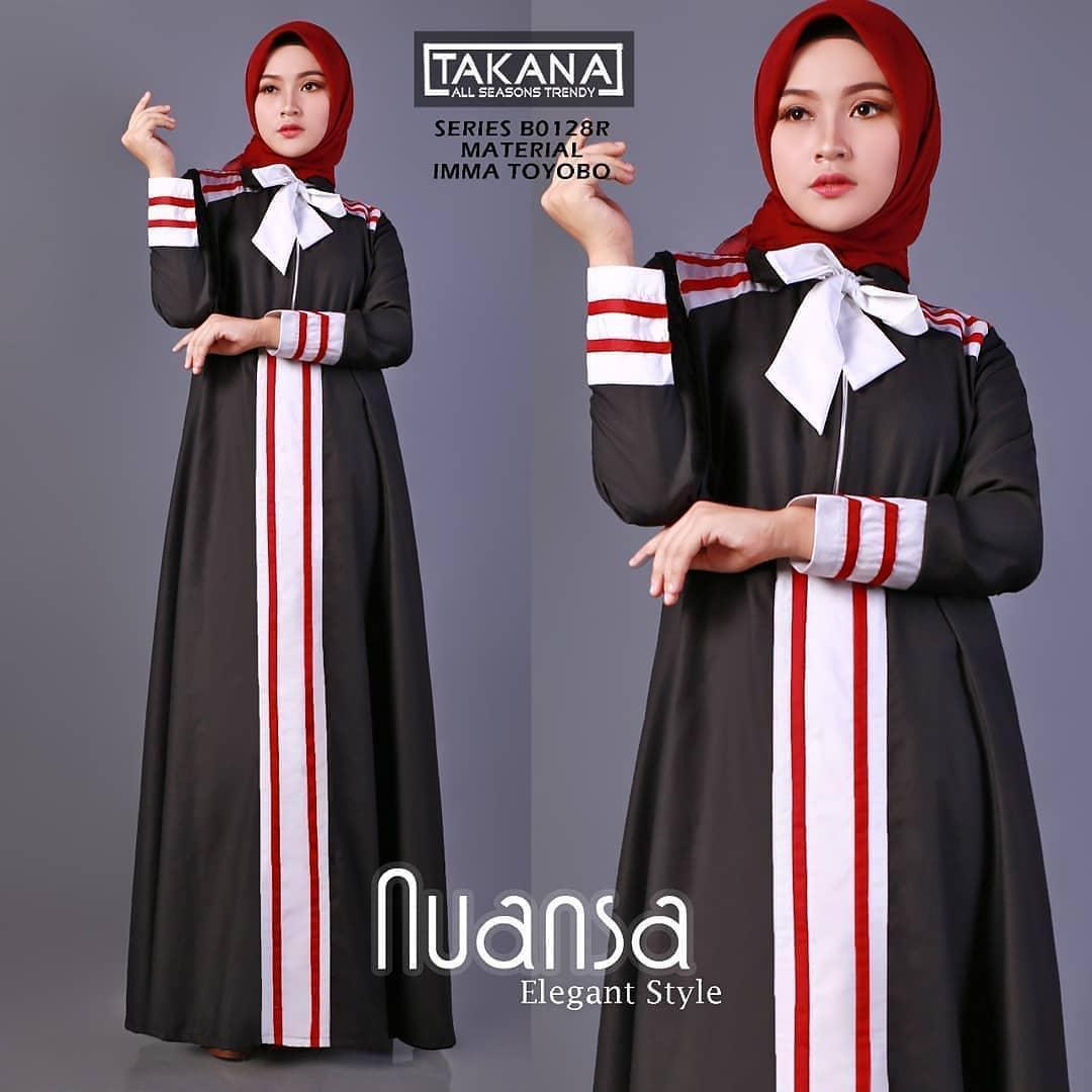Gamis Nuansa Dress Balotelly Baju Wanita Gamis Baju Terusan Panjang Baju Kerja Gaun Pesta Murah Remaja Baju Muslim Terbaru 2018 Baju Model Terbaru