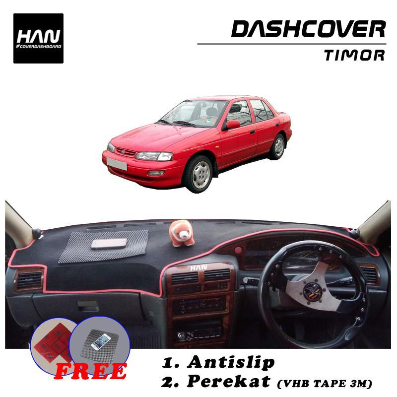 Han Cover Dashboard Timor / Aksesoris Variasi Interior Dasboard Mobil / Alas Karpet Tutup Taplak Pelindung Dasboar Kia