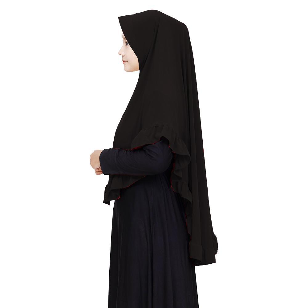 Maula Hijab Jilbab Khimar Syari Pinguin Rempel Pet Antem