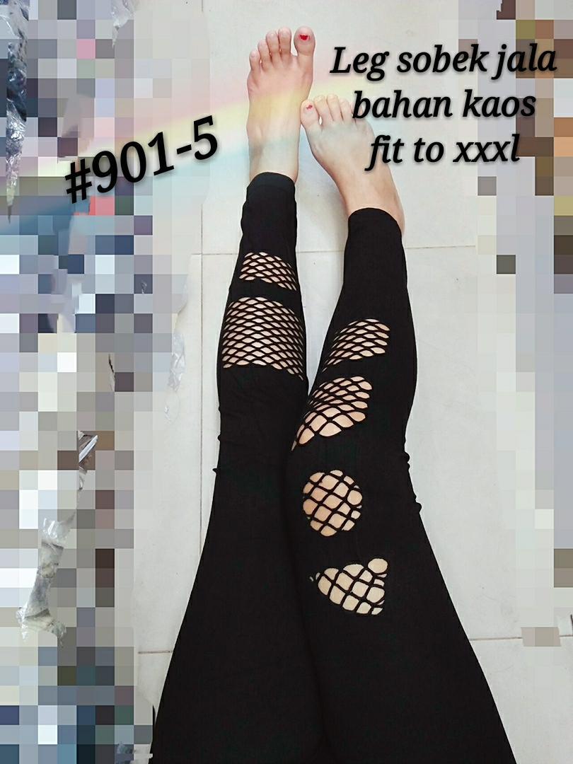 Princess Wardrobe -  Viola Legging Net  [ MOTIF 5 ]/ Legging wanita import XXXL/ Legging jumbo /