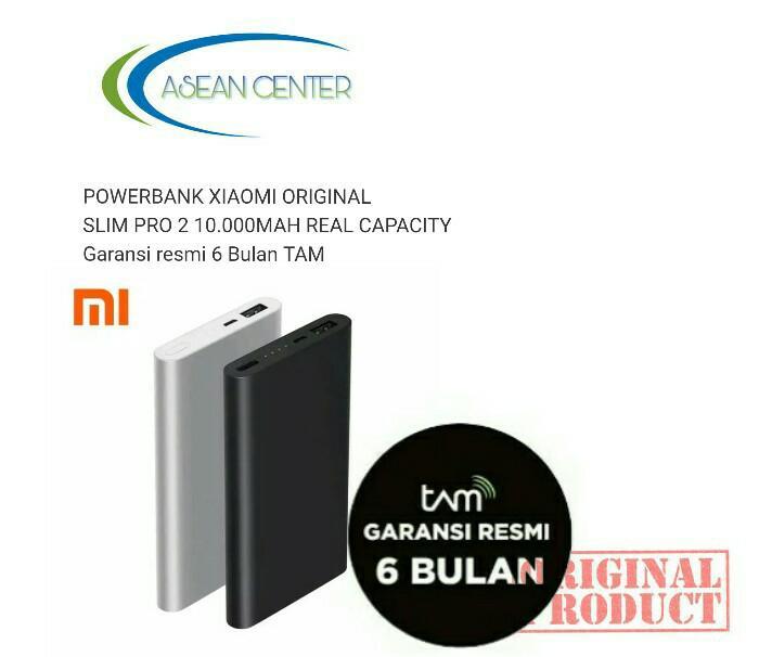 Xiaomi Powerbank Mi 2 Pro 10000mah - Garansi Resmi TAM
