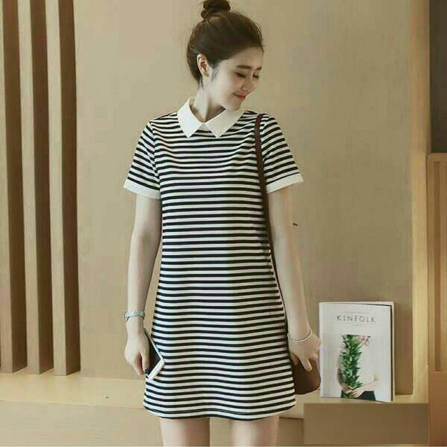 AG Apparel Dress Wk Fani Hitam / Dress Wanita / Fashion Wanita / Baju Kekinian / Dress Fashion / Dress Kaos Wanita / Dress T-shirt Wanita / Gaun Kaos Wanita / Atasan Murah / Dress Santai Wanita / Gaun Remaja / Gaun Kasual / Dress Casual Wanita