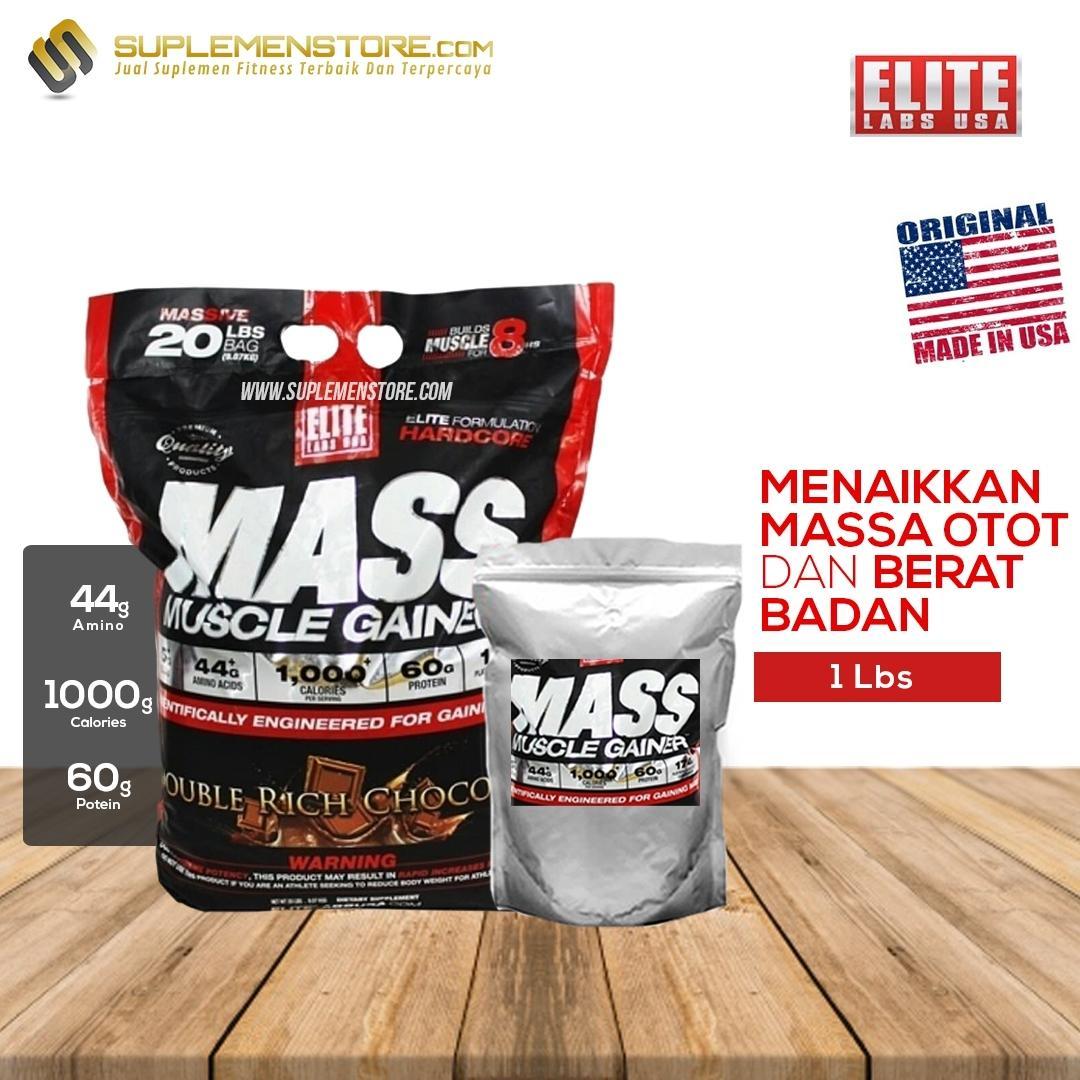 Elite Labs Mass Muscle Gainer BPOM Eceran 2lbs