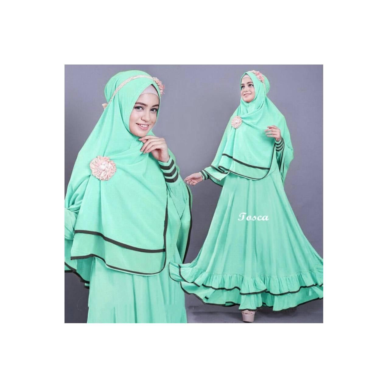 Vrichel Collection - Syari 2in1 Bella (Mint) Berkualita Murah