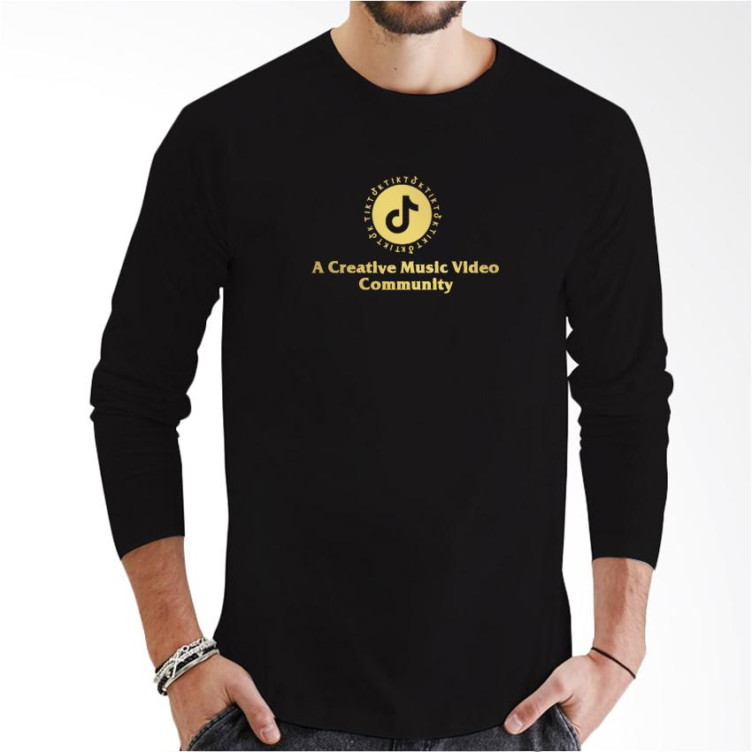 Do More Store Kaos Distro Long sleeve Tik tok Community Gold Premium