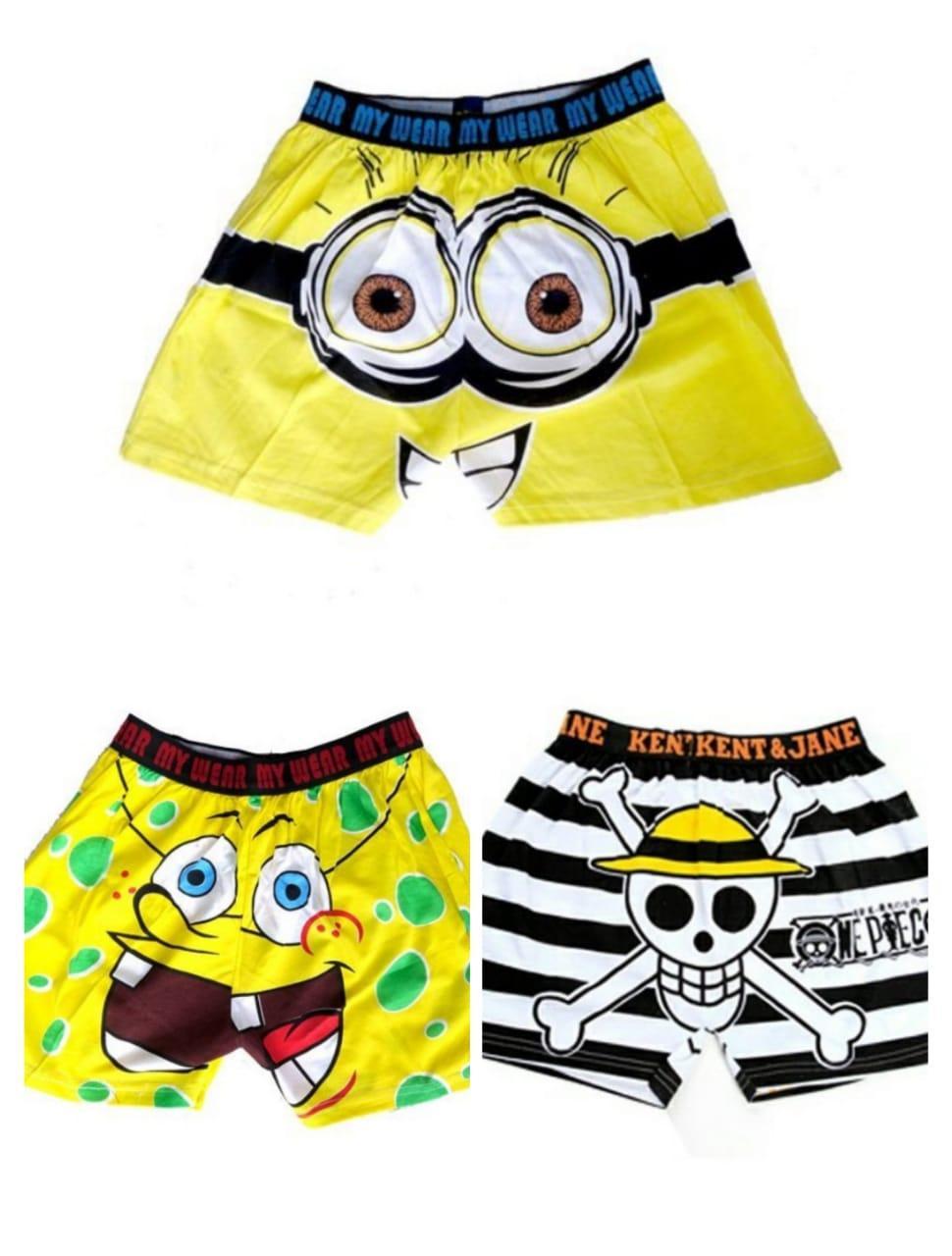Pakaian Dalam Kaus Kaki Pria Celana Agree Original Isi 3 Pcs Pendek Boxer Hot Promo 3pcs Multiwarna