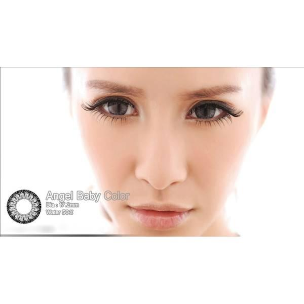 Softlens Baby Color Angel Series Grey (Abu-Abu)