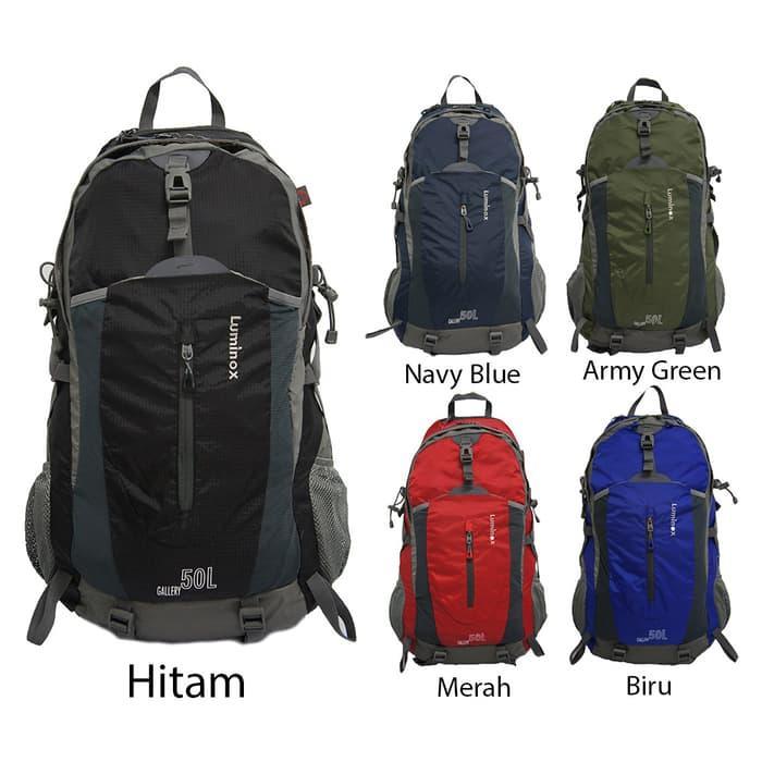 HOT PROMO!!! Luminox 5028-50L Tas/Ransel Gunung/ Hiking Backpack (Free Rain Cover)