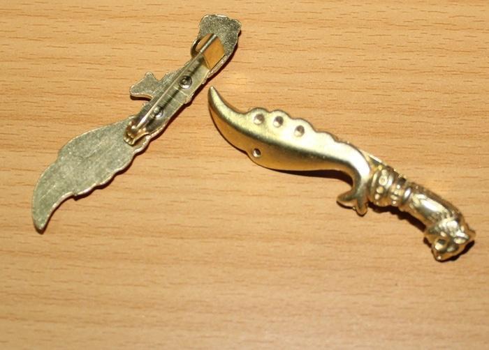 Pin Kujang Gold By Toko_ifafia.